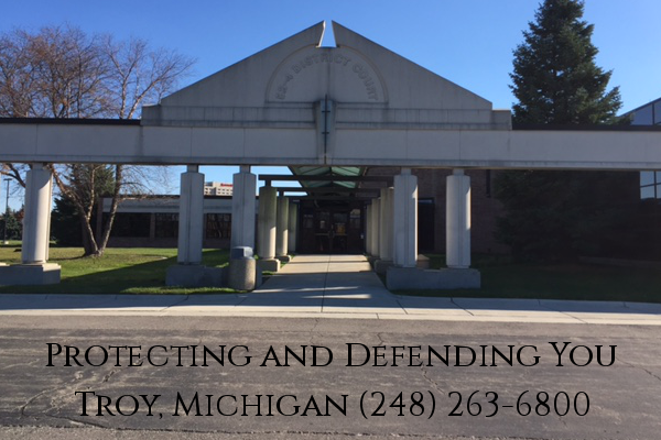 Troy michigan court case search
